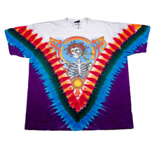 Load image into Gallery viewer, 2003 Liquid Blue Grateful Dead Skeleton Rose Tie Dye Tee