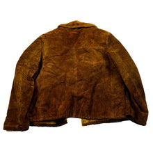 Load image into Gallery viewer, 1970's Coffee Suede & Fur Lined Rancher Coat