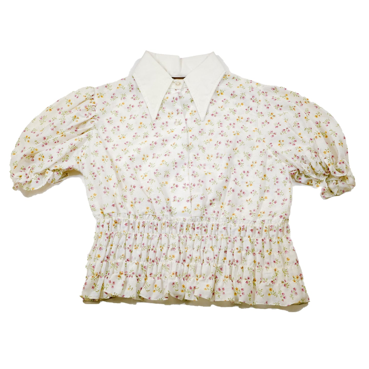1970 Cropped Deadstock Fenton Westerns Blouse