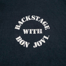 Load image into Gallery viewer, 1989 Bon Jovi New Jersey Fan Club Backstage Tee