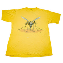 Load image into Gallery viewer, 1985 Yellow Mosquito Attack Double Sided Tee