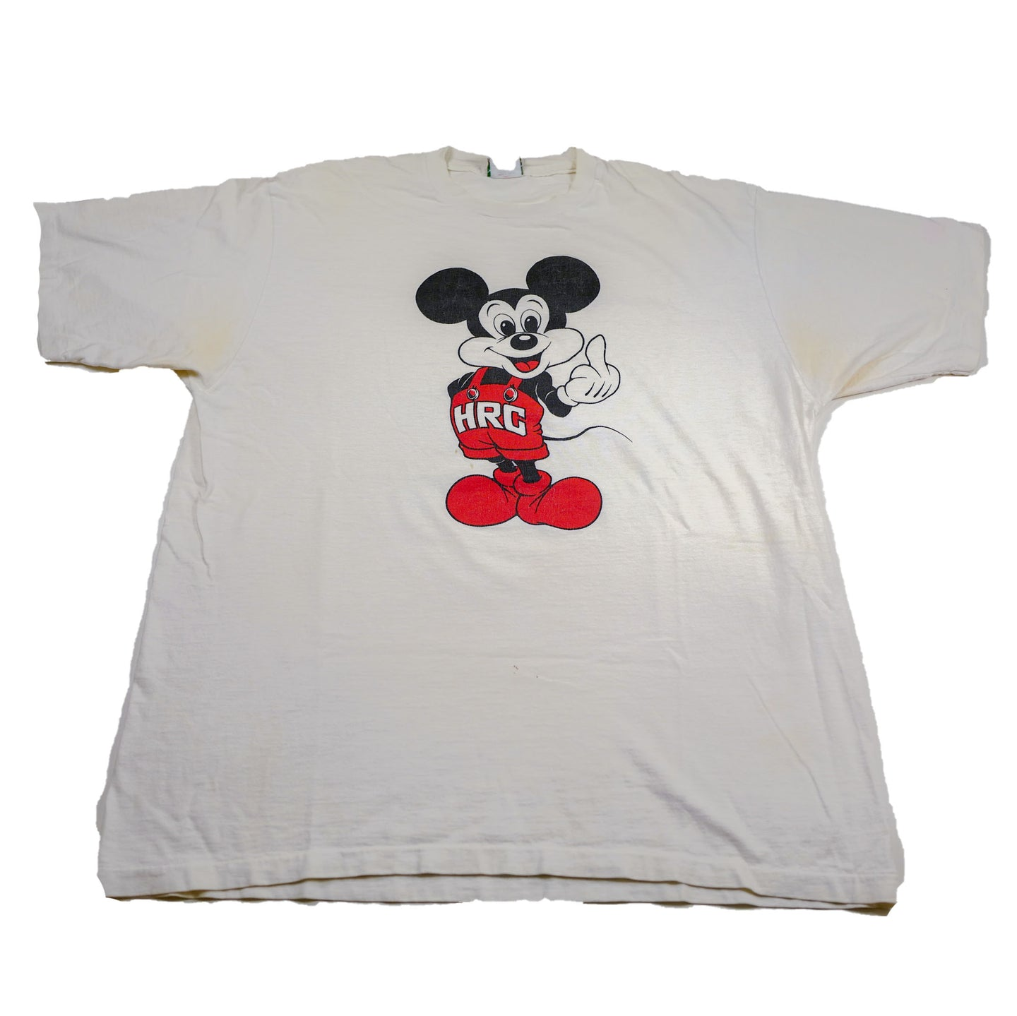 Vintage HRC Mickey Mouse Middle Finger Tee