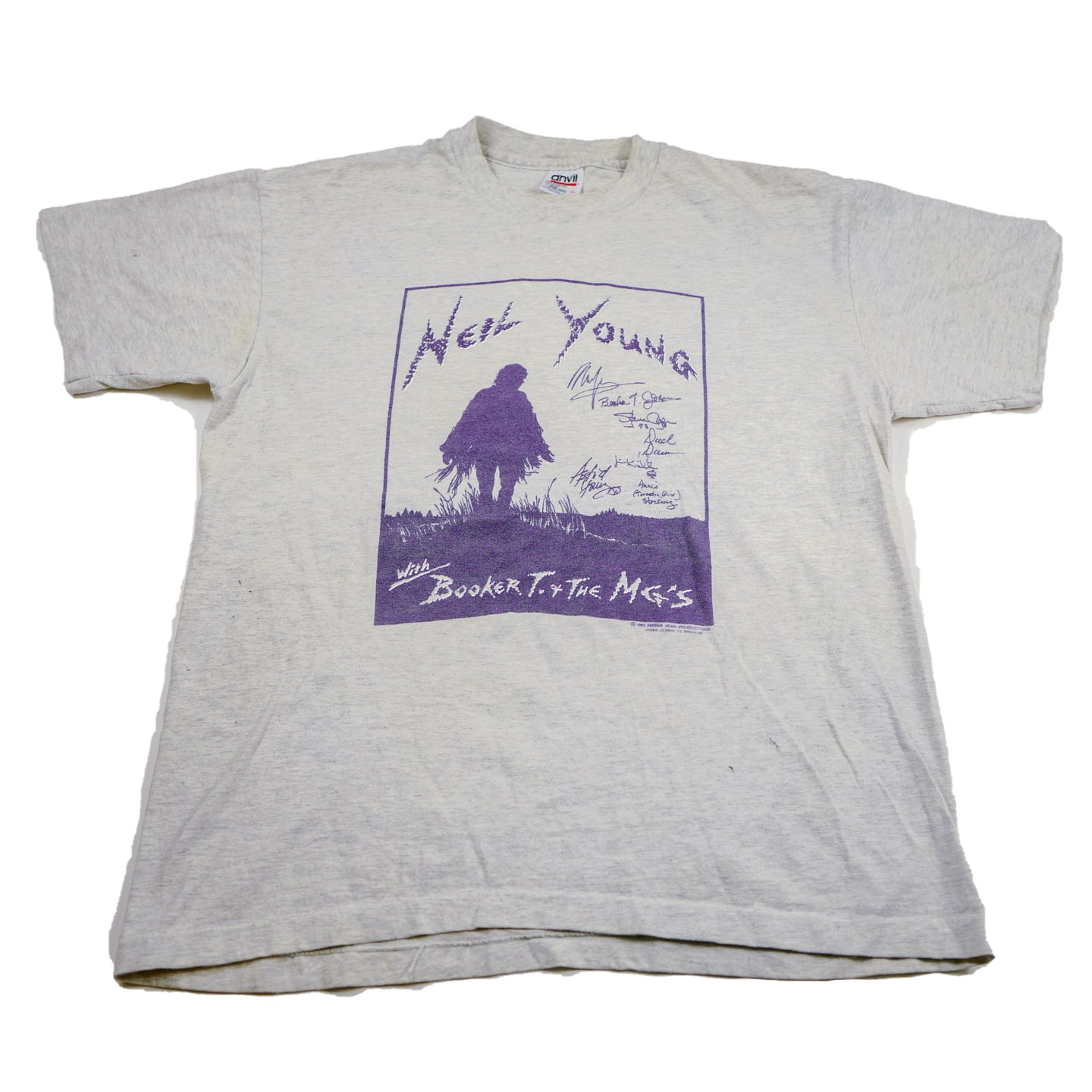 1993 Neil Young with Booker T or The MG's Tee