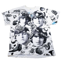 Load image into Gallery viewer, Rare! Vintage 1991 The Beatles All Over Print Tee