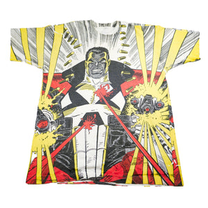 RARE 1993 Marvel Comics Punisher 2099 All Over Print Tee
