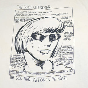 "Vintage Sonic Youth 1991 "" SONIC YOUTH 1991 ""The GOO"" Tee"