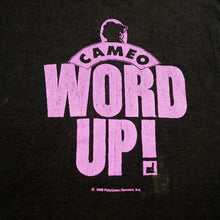 Load image into Gallery viewer, Vintage 1988 Cameo 'Word Up!' Tee