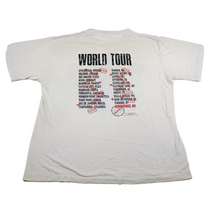1987 Billy and the Boingers World Tour Tee