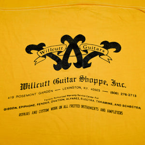Vintage Willcutt Guitar Shoppe Tee