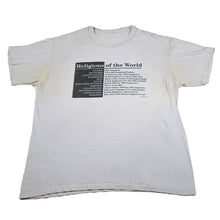Load image into Gallery viewer, 1994 Satire Religions of the World Tee
