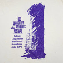 Load image into Gallery viewer, 1993 Black Hills Jazz and Blues Festival Tee