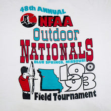 Load image into Gallery viewer, Vintage 1993 48th Annual NFAA Outdoor Nationals Tee