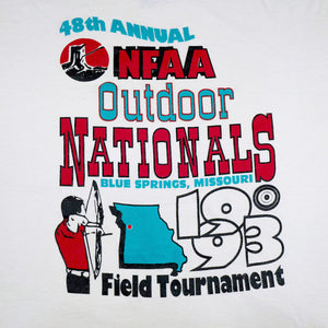 Vintage 1993 48th Annual NFAA Outdoor Nationals Tee