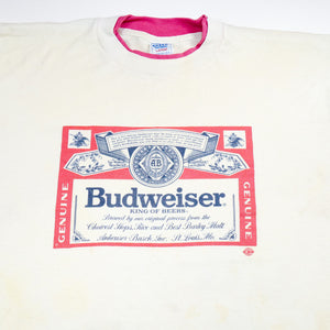 Budweiser Double-Layer Collar Tee