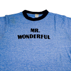 Mr. Wonderful Ringer Tee