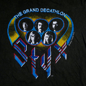 1979 Styx The Grand Decathlon Tour Tee