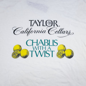 Vintage 90's Taylor California Cellars Tee
