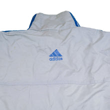 Load image into Gallery viewer, Adidas Grey Windbreaker Jacket
