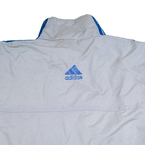 Adidas Grey Windbreaker Jacket