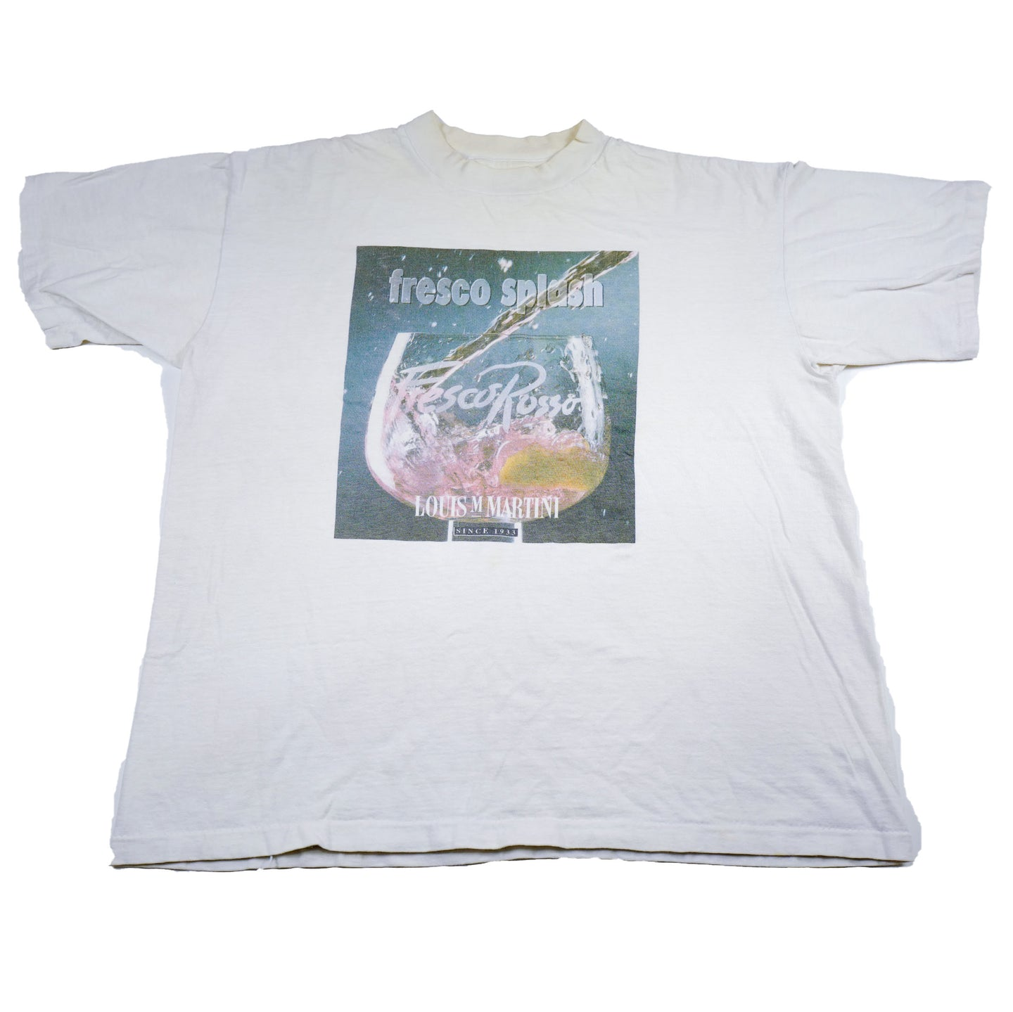 90's Louis M Martini Fresco Splash Promotional Tee