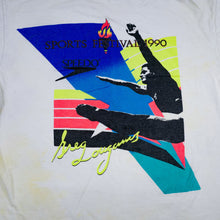 Load image into Gallery viewer, Vintage 90's Speedo Sports Festival Greg Louganis Tee