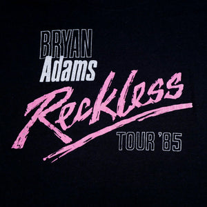 1985 Bryan Adams Reckless Tour Double Sleeve Tee