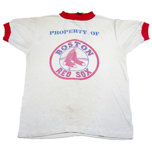 Property of Boston Red Sox Vintage Ringer Tee