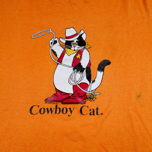 1980 Cowboy Cat Graphic Tee
