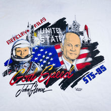 Load image into Gallery viewer, Vintage STS-95 Space Shuttle John Glenn Tee