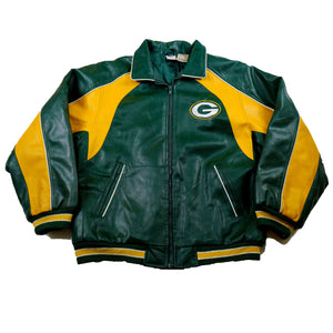 Leather Green Bay Packers Winter Jacket