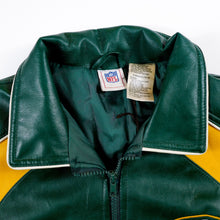 Load image into Gallery viewer, Leather Green Bay Packers Winter Jacket