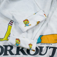 Load image into Gallery viewer, Vintage 80's Tweety Workout Sweatshirt