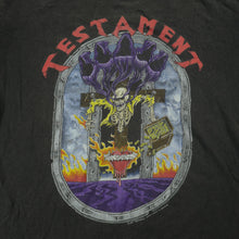 Load image into Gallery viewer, Vintage 90's Testament World Tour Tee