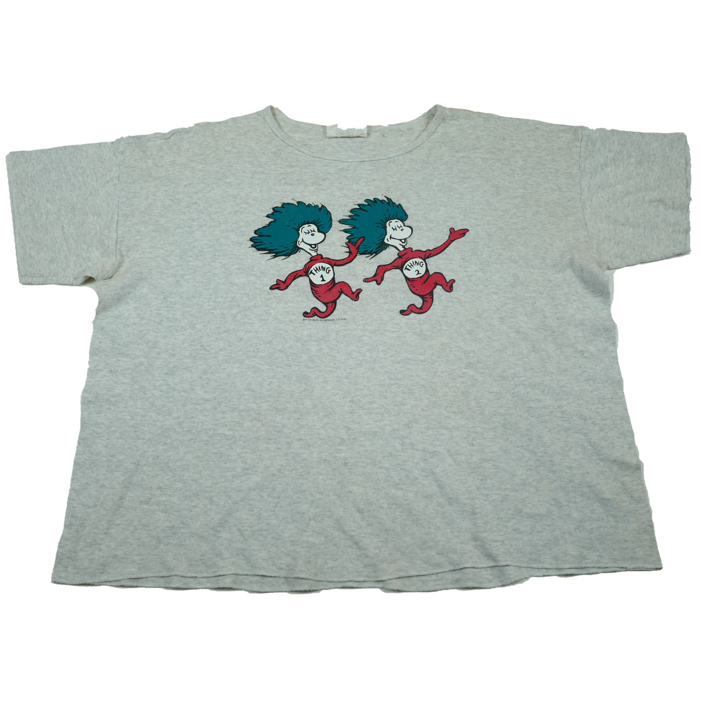 1995 Dr. Seuss Thing 1 and 2 Tee