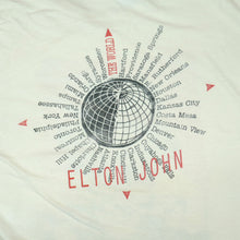 Load image into Gallery viewer, Elton John The World 1989-1990 Tour Tee