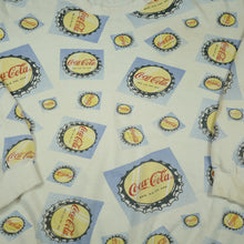 Load image into Gallery viewer, Vintage Coca Cola Bottle Cap Sweatshirt