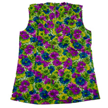 Load image into Gallery viewer, Deadstock HbarC California Ranchwear Mockneck Floral Tank Top