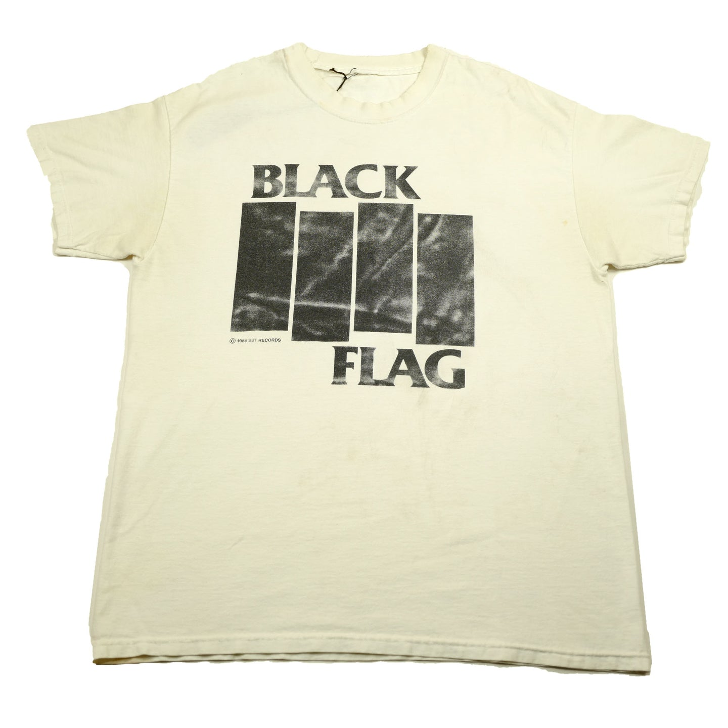 Vintage SST Records Black Flag Tee