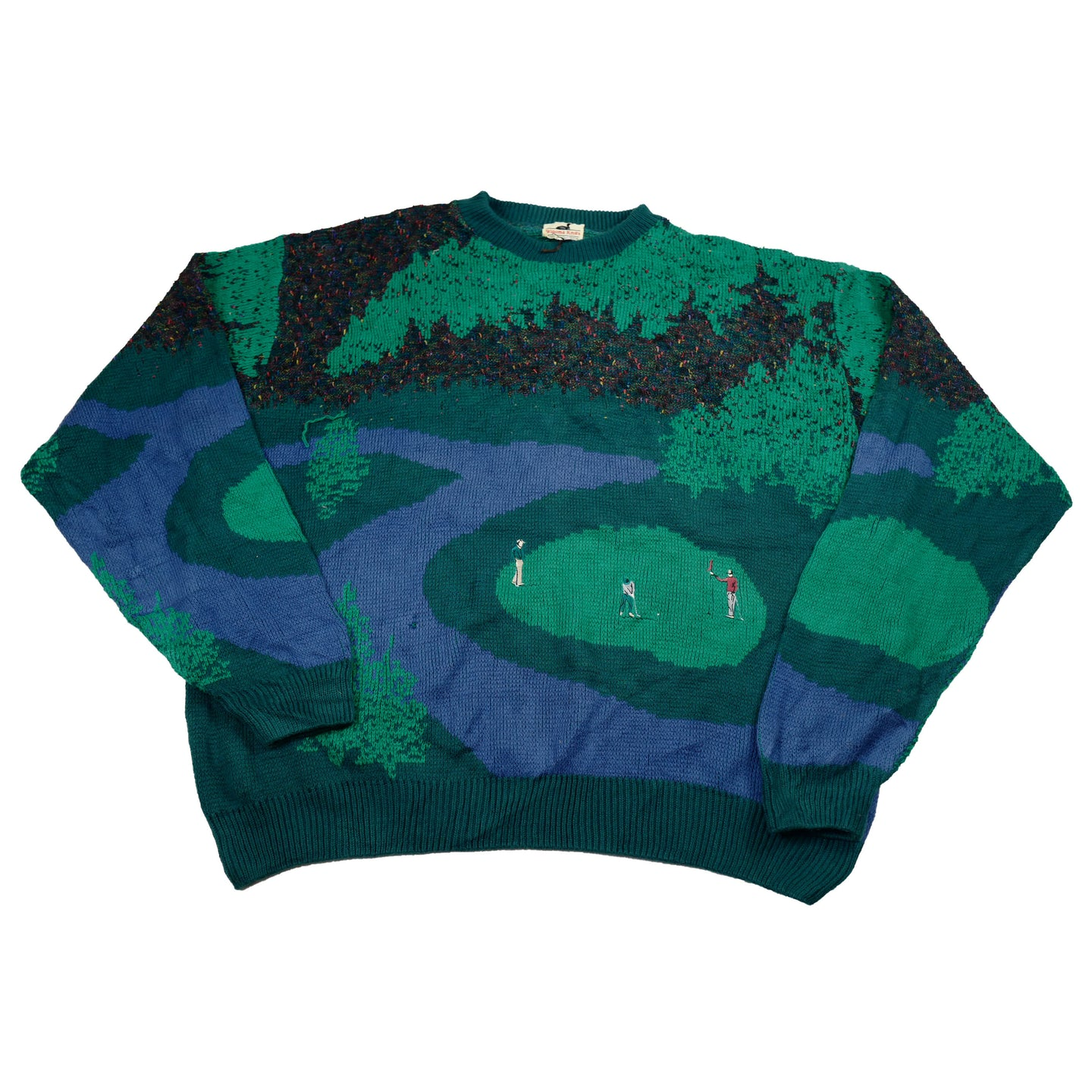 Vintage Golf Sweater