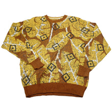 Load image into Gallery viewer, Vintage Abstract Leaf Sweater