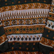 Load image into Gallery viewer, Vintage Orange Chunky Sweater