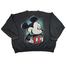 Load image into Gallery viewer, Vintage Disney Mickey Mouse Grey Sweatshirt