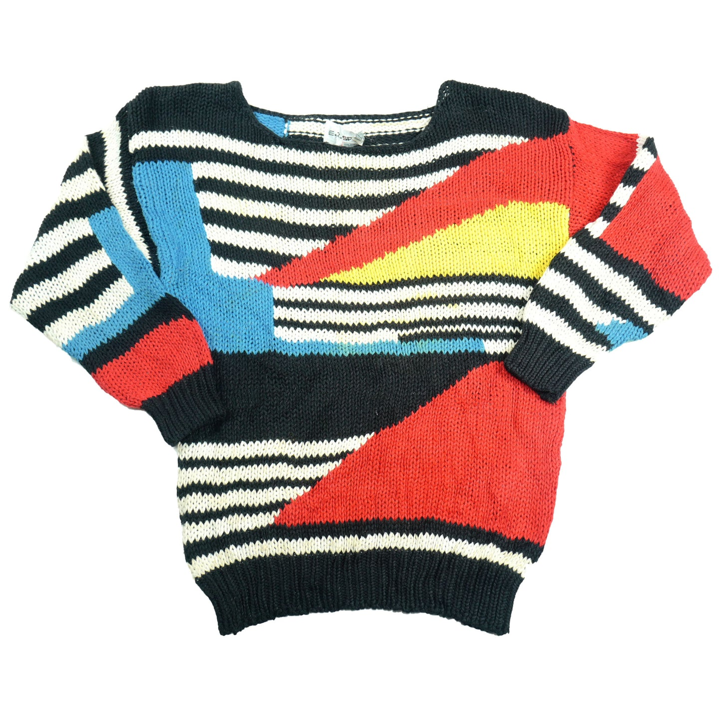 Vintage Abstract Petite Women's Sweater