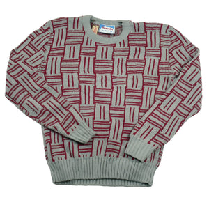 Vintage Scandia Sportswear Patterned Sweater
