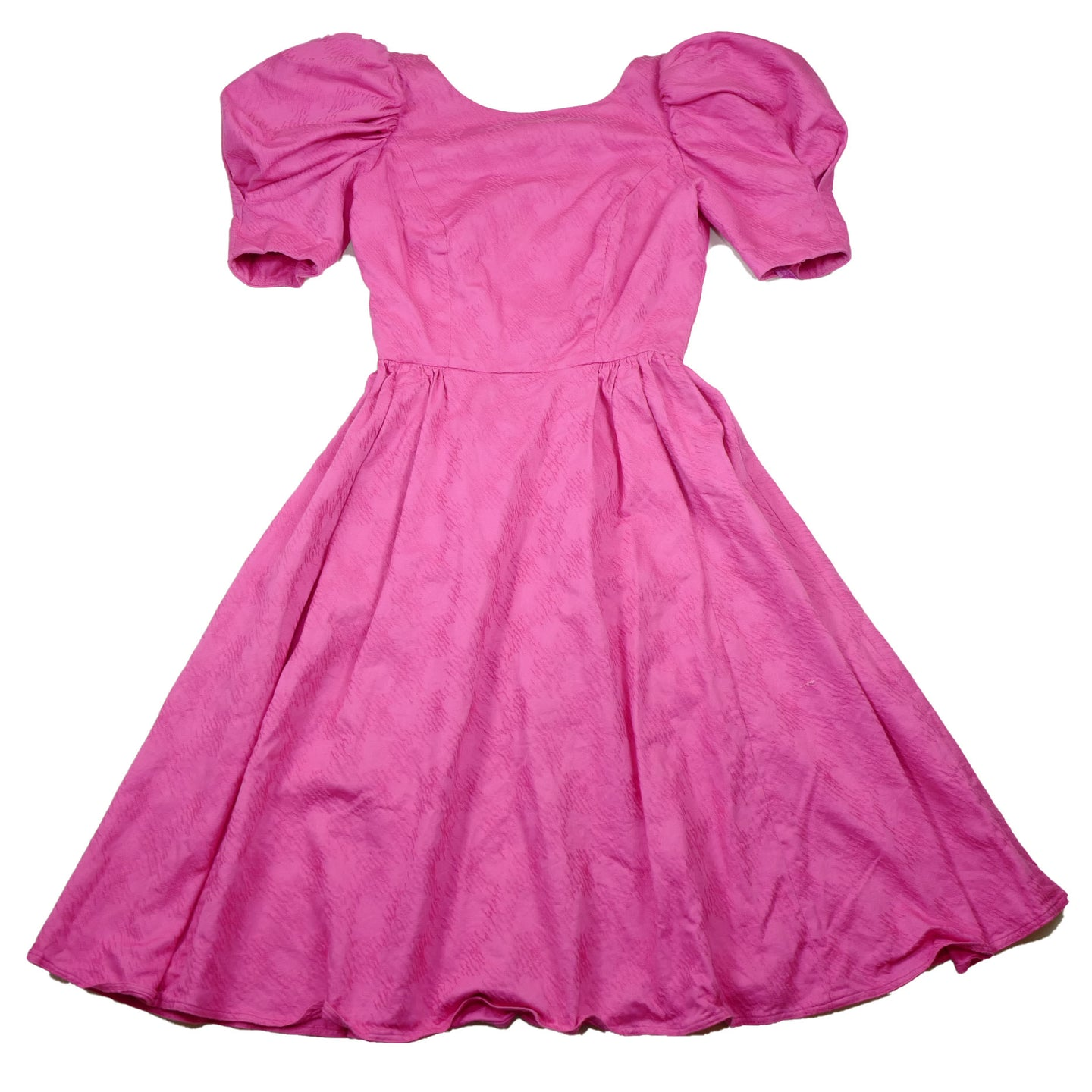 Vintage 80's Pretty in Pink Party Dress