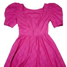 Load image into Gallery viewer, Vintage 80's Pretty in Pink Party Dress