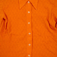 Load image into Gallery viewer, Vintage 90's Orange Blouse