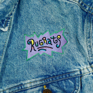 Vintage Lee Rugrats Embroidered Jean Jacket
