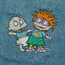 Load image into Gallery viewer, Vintage Lee Rugrats Embroidered Jean Jacket