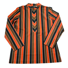 Load image into Gallery viewer, 70's Deadstock HBarC Ranchwear California Mockneck Striped Top